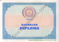 certified translation of Ukrainian Degree Diploma