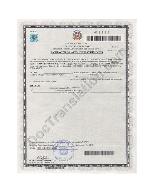 Certified Russian Translation of Vital Records for USCIS