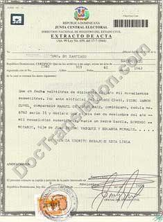 Certified translation of spanish birth certificate uscis accepted dominican birth certificate translation services yadclub Gallery