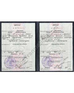 Diploma - Belarus