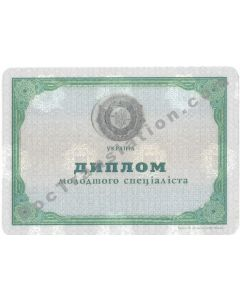 Technicum Diploma - Ukraine
